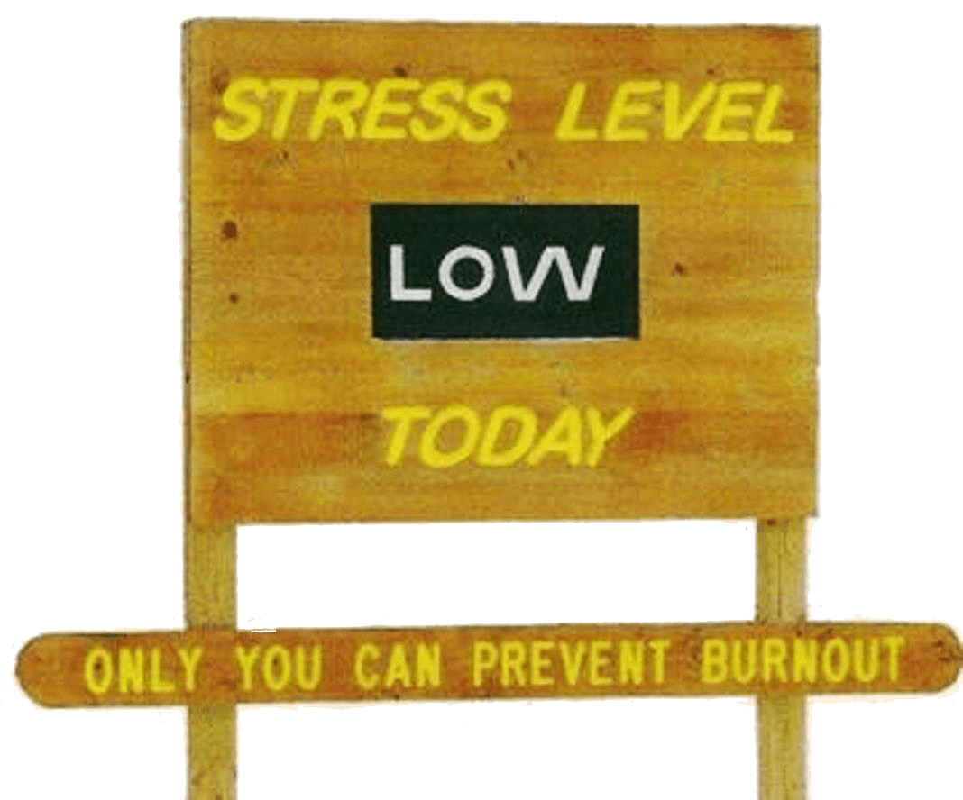 You Are Now North of the Stress Zone